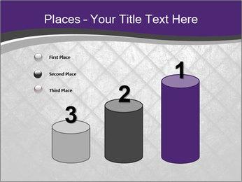 Metal grid PowerPoint Template - Slide 65