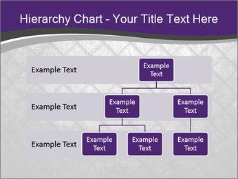 Metal grid PowerPoint Template - Slide 67