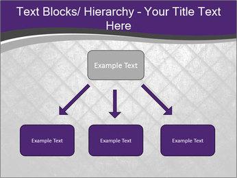 Metal grid PowerPoint Template - Slide 69