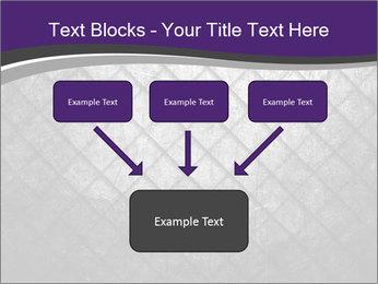 Metal grid PowerPoint Template - Slide 70