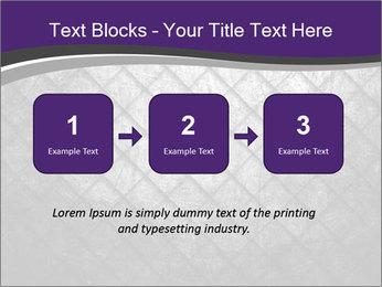 Metal grid PowerPoint Template - Slide 71