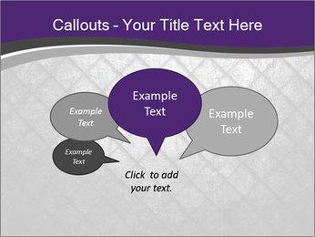 Metal grid PowerPoint Template - Slide 73