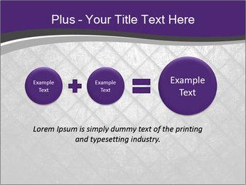 Metal grid PowerPoint Template - Slide 75