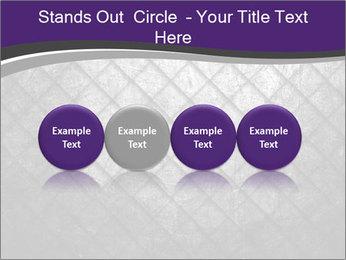 Metal grid PowerPoint Template - Slide 76