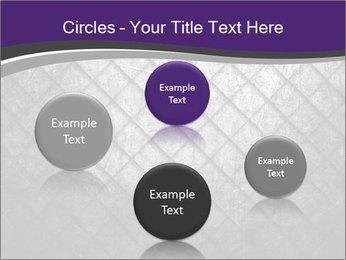 Metal grid PowerPoint Template - Slide 77