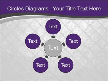 Metal grid PowerPoint Template - Slide 78