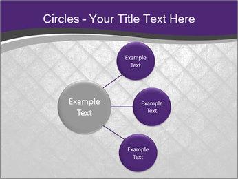 Metal grid PowerPoint Template - Slide 79
