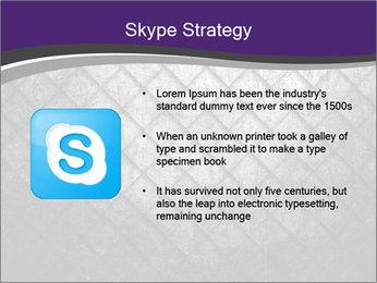 Metal grid PowerPoint Template - Slide 8