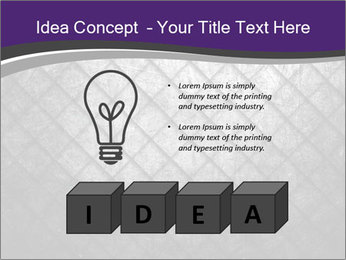 Metal grid PowerPoint Template - Slide 80