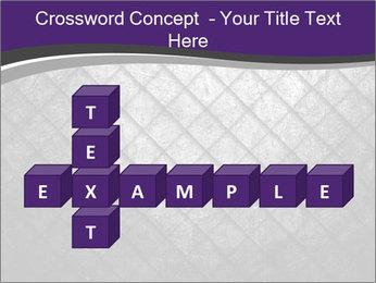 Metal grid PowerPoint Template - Slide 82