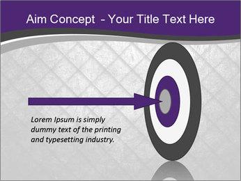 Metal grid PowerPoint Template - Slide 83