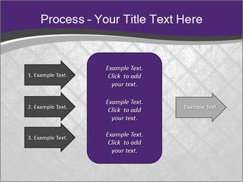 Metal grid PowerPoint Template - Slide 85