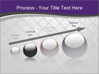 Metal grid PowerPoint Template - Slide 87