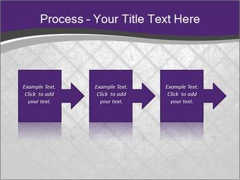 Metal grid PowerPoint Template - Slide 88