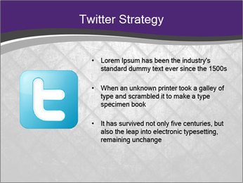 Metal grid PowerPoint Template - Slide 9