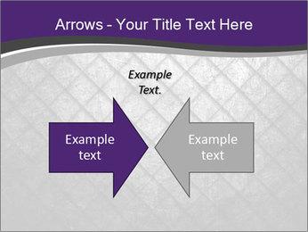 Metal grid PowerPoint Template - Slide 90