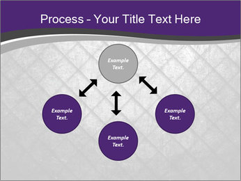 Metal grid PowerPoint Template - Slide 91