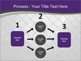 Metal grid PowerPoint Template - Slide 92