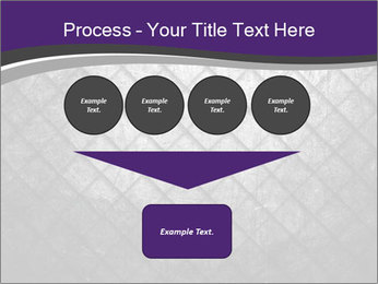 Metal grid PowerPoint Template - Slide 93