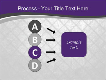 Metal grid PowerPoint Template - Slide 94