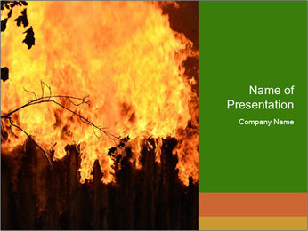 Fire PowerPoint Templates - Slide 1