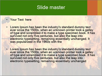 Fire PowerPoint Templates - Slide 2