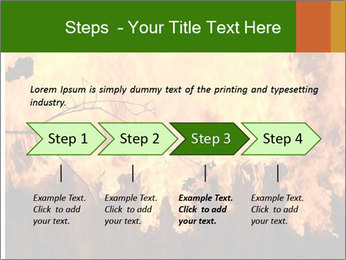 Fire PowerPoint Templates - Slide 4