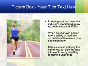 The guy runs PowerPoint Template - Slide 13