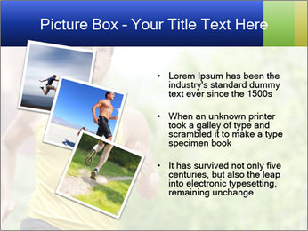 The guy runs PowerPoint Template - Slide 17