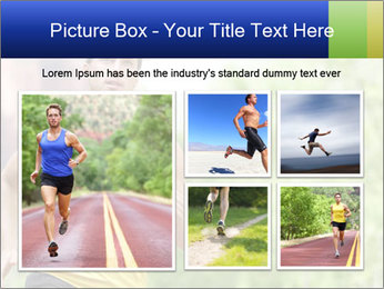 The guy runs PowerPoint Template - Slide 19