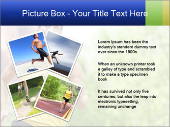 The guy runs PowerPoint Template - Slide 23