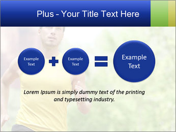 The guy runs PowerPoint Template - Slide 75