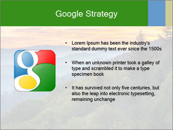Mountain view PowerPoint Template - Slide 10