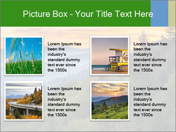 Mountain view PowerPoint Template - Slide 14