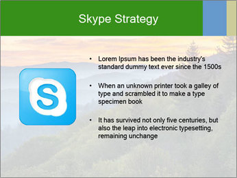 Mountain view PowerPoint Template - Slide 8