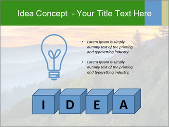 Mountain view PowerPoint Template - Slide 80