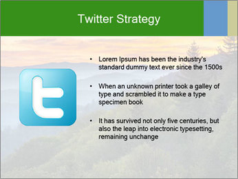 Mountain view PowerPoint Template - Slide 9