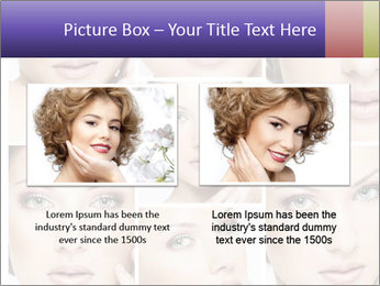 Woman's face PowerPoint Templates - Slide 18