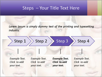 Woman's face PowerPoint Templates - Slide 4
