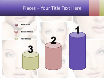 Woman's face PowerPoint Templates - Slide 65