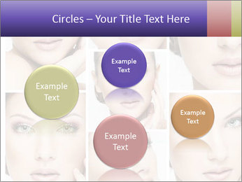 Woman's face PowerPoint Templates - Slide 77
