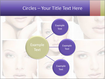 Woman's face PowerPoint Templates - Slide 79