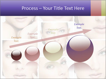 Woman's face PowerPoint Templates - Slide 87