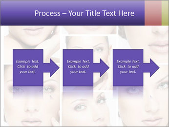 Woman's face PowerPoint Templates - Slide 88