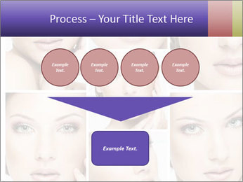 Woman's face PowerPoint Templates - Slide 93