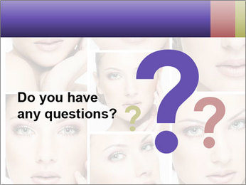Woman's face PowerPoint Templates - Slide 96