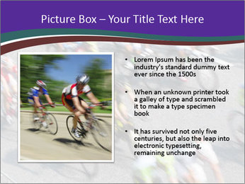 Cyclists PowerPoint Templates - Slide 13