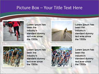 Cyclists PowerPoint Templates - Slide 14