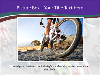 Cyclists PowerPoint Templates - Slide 16