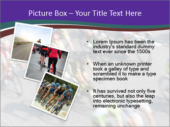 Cyclists PowerPoint Templates - Slide 17